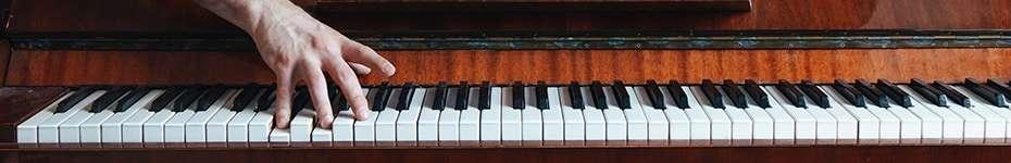 Musica di sottofondo con pianoforte