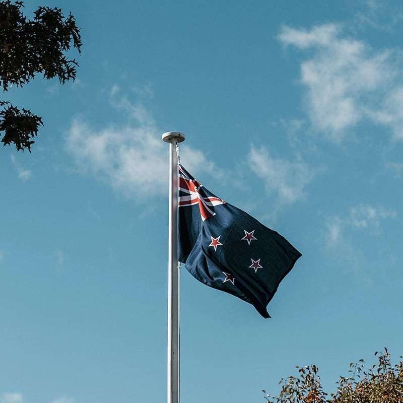 Inglese Nuova Zelanda